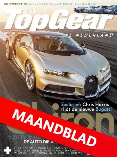 tijdschrift Topgear
